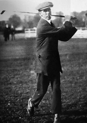 CUT DOWN IN THEIR PRIME: Michael Moran, the first Irish golfer to win prize money at The Open