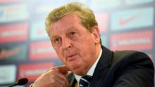 England's Roy Hodgson during a press conference at the Aviva Stadium