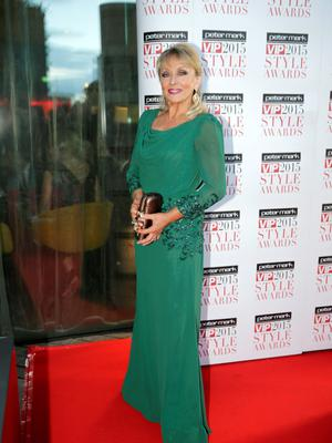 Adele King aka Twink pictured at the VIP Style Awards 2015 at the Marker Hotel in Dublin. Picture: Arthur Carron