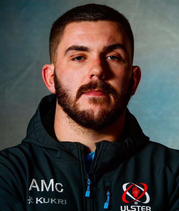 Adam McBurney has ambitions to create his own legacy at Ulster. Photo: Oliver McVeigh/Sportsfile