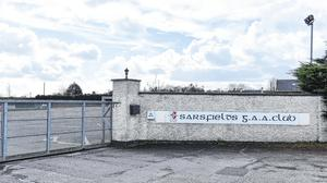 Changing lanes: Sarsfields GAA grounds in Newbridge has had to close its gates due to Covid-19 but, like so many clubs around the country, it has offered to help those in need in the local community.  Photo: Piaras Ó Mídheach/Sportsfile