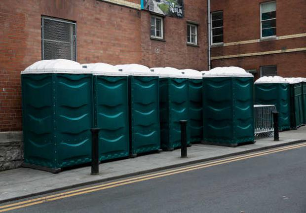 Public toilets on Chatham Row in Dublin city centre