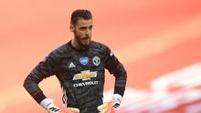David de Gea made a number of errors in Man United's 3-1 defeat to Chelsea. Pool via REUTERS/Andy Rain