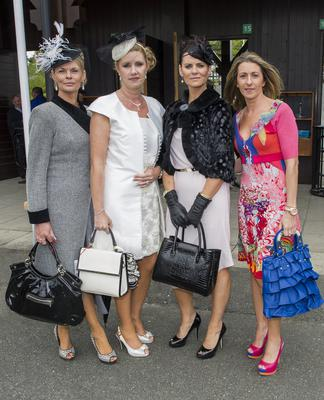 Wednesday 30 April 2014. Punchestown Races, Blaithnaid Noonan, Kildare, Helen Kelly, Kildare, D.A. Monahan, Longford and Steph Fortune, Maynooth.