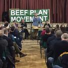 Eamon Corley addresses farmers at a previous meeting in Holycross