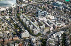 An artist's impression of what planning permission currently allows for on the site of the Berkeley Court and Jurys hotels