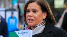 Mary Lou McDonald was 'falsely accused' of pulling out. Picture: Collins