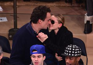 Olivier Sarkozy and Mary-Kate Olsen in 2013