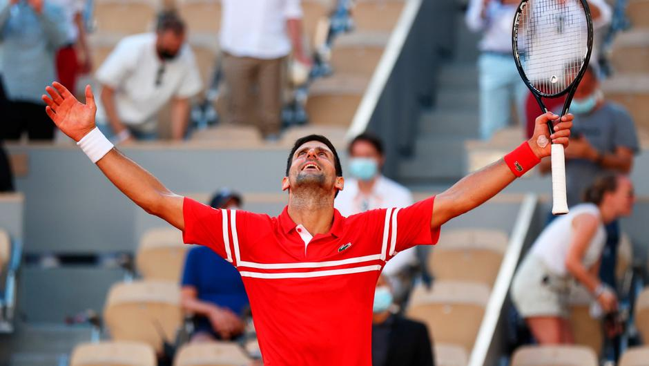 Novak Djokovic is the first player in the Open Era to win each Grand Slam at least twice. (Photo by Julian Finney/Getty Images)