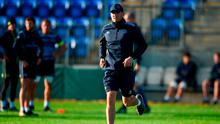 Leinster backs coach Girvan Dempsey. Photo: Cody Glenn/Sportsfile
