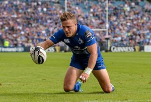 Ian Madigan has shown he has the talent to lead the Leinster backline. Picture credit: Stephen McCarthy / SPORTSFILE