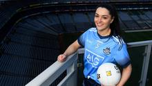 LOOKING FORWARD: Sinéad Goldrick of Dublin can't wait to get back to action. Photo: Harry Murphy/Sportsfile