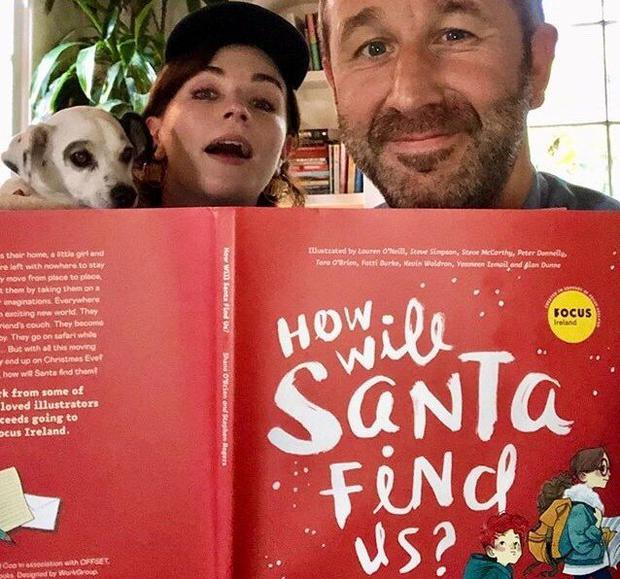 Star billing: Aisling Bea and Chris O'Dowd give 'How Will Santa Find Us?' a boost