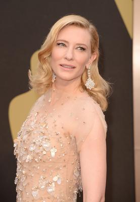 Actress Cate Blanchett attends the Oscars held at Hollywood & Highland Center on March 2, 2014 in Hollywood, California.  (Photo by Jason Merritt/Getty Images)