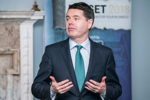 Minister for Finance Pascal Donohoe. Photo: Kyran O'Brien