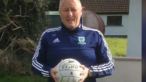 Tragedy: Detective Colm Horkan in the GAA gear of his local club Charlestown