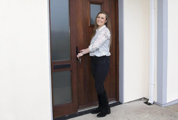 Shauna Byrne moves into her new house at Abbey Close, Tullow Co. Carlow