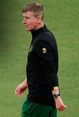 DECISIONS: Republic of Ireland manager Stephen Kenny