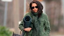 Meghan Markle heads to afternoon yoga in Toronto, Canada, in 2017. Picture: Splash News