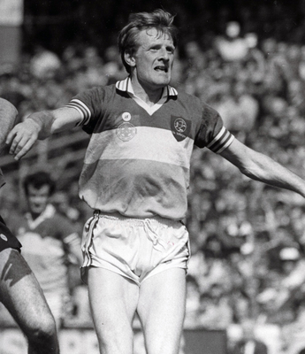 Offaly's Pat Fitzgerald during the 1982 All-Ireland final. Photo: Billy Stickland/INPHO