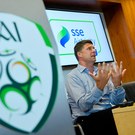 Niall Quinn's appointment to the FAI board hasn't been met with universal approval. Photo by Ramsey Cardy/Sportsfile