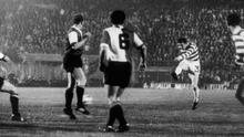 Gemmell scored in the 1967 European Cup final as Celtic became Britain's first European champions (Getty)