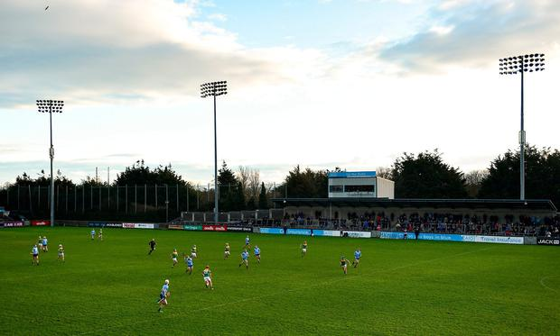 A general view during the 2020 Walsh Cup Round 1 match between Dublin and Carlow at Parnell Park. Photo: Sam Barnes/Sportsfile