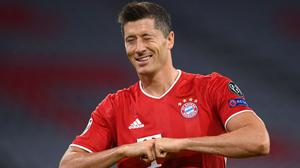 'Robert Lewandowski has gone up another level this term with 55 goals from 46 games, his 34 goals in the Bundesliga the highest total there in 43 years'. Photo: Getty
