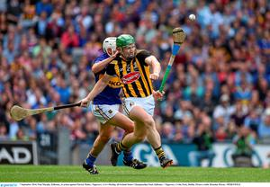 7 September 2014; Paul Murphy, Kilkenny, in action against Patrick Maher, Tipperary. GAA Hurling All Ireland Senior Championship Final, Kilkenny v Tipperary. Croke Park, Dublin. Picture credit: Brendan Moran / SPORTSFILE