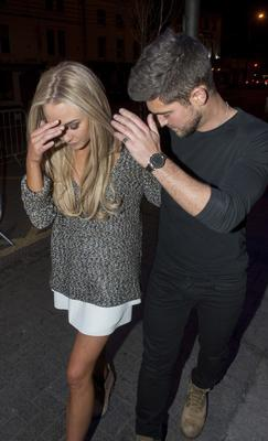 Madly in love Made in Chelsea couple Nicola Hughes & Alex Mytton made a private visit to the Naas Court Hotel Nightclub where they first met 9 months ago. The Reality TV couple partied into the small hours, Alex even took to the decks and showed Nicola his DJ skills, Naas Court Hotel, Naas, Ireland - 19.04.15. Pictures: Jerry McCarthy / VIPIRELAND.COM *** Local Caption *** Nicola Hughes, Alex Mytton