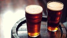 A night out having two pints amounts to 380 calories. GETTY