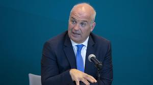 29/05/2020  Dr Tony Holohan, Chief Medical Officer, Department of Health,pictured this evening  (Friday 29th May) at a Covid -19 update press conference at the Department of Health.....Picture Colin Keegan, Collins Dublin