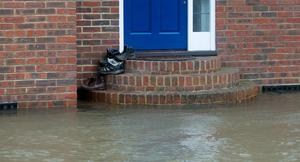 Flooded homes in Egham, Surrey. Steve Parsons/PA Wire