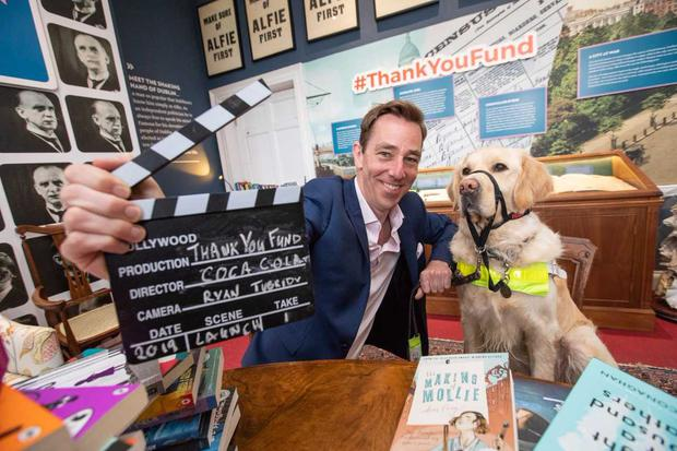 Ryan Tubridy launches the 2019 Coca-Cola Thank You Fund.  PIC: Naoise Culhane