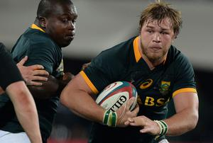 Duane Vermeulen - Age 28 Height: 6ft4in Weight: 17st International caps: 25 International tries: 2. Photo credit: Duif du Toit/Gallo Images/Getty Images