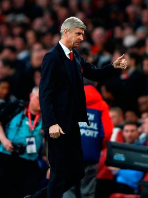 Arsene Wenger, Manager of Arsenal. Photo: Getty