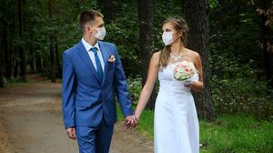 Couples with summer weddings planned are facing bad news, with the Government expected to leave in place strict rules on indoor gatherings. (stock photo)