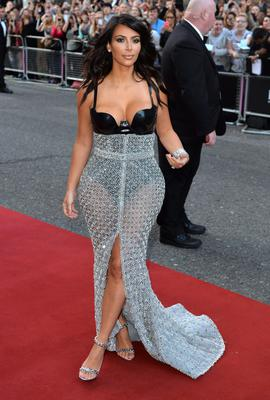 Kim Kardashian attends the GQ Men of the Year awards at The Royal Opera House on September 2, 2014 in London, England.  (Photo by Anthony Harvey/Getty Images)