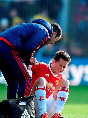 Ander Herrera insists there is no pain for him at Manchester United