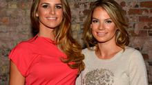 Vogue Williams McFadden and sister Amber Williams