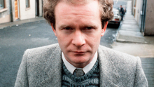 Martin McGuinness pictured in Derry in 1985