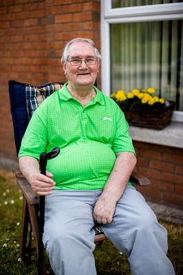 Robert Atkinson, 82, who shielded for 10 weeks Photo credit: Liam McBurney/PA Wire
