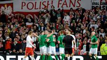 The Polish fans are sure to be in full voice in Dublin tomorrow so the Ireland team need the home crowd to make some effort to welcome our boys