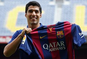 Barcelona exploited the delay in their transfer ban by stockpiling players this summer, including the purchase of Luis Suarez for a fee of £75m. Photo: REUTERS/Gustau Nacarino
