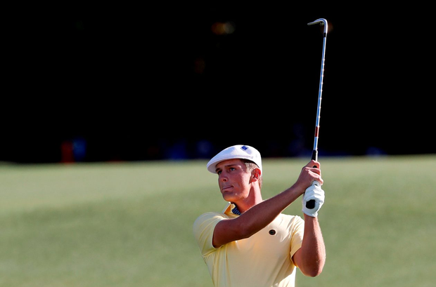 Bryson DeChambeau ran up a crushing triple-bogey on the final hole of his second round Photo: USA Today Sports