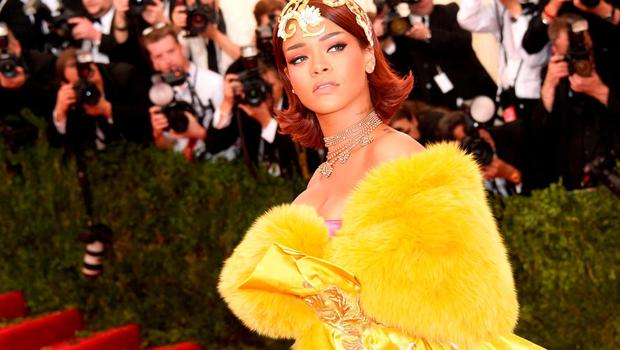 """Rihanna attends the """"China: Through The Looking Glass"""" Costume Institute Benefit Gala at the Metropolitan Museum of Art on May 4, 2015 in New York City.  (Photo by Larry Busacca/Getty Images)"""