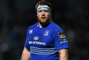Michael Bent has been one of Leinster's best performers this term. Photo: Stephen McCarthy / SPORTSFILE