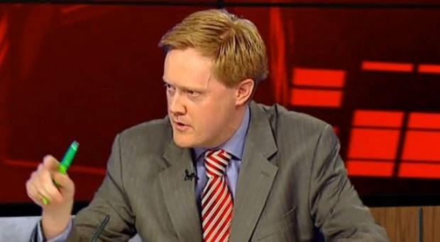 Irish Independent political editor Fionnan Sheahan clashes with Vincent Brown on Monday
