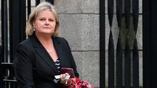 Angela Kerins, the former CEO of Rehab, arriving at the High Court. Pic: Collins Courts