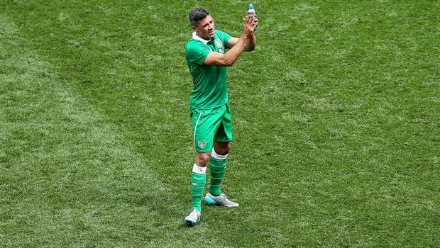 Jonathan Walters on the pitch